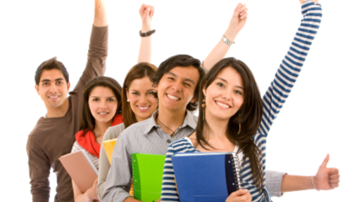 Thumb free toefl class group success image
