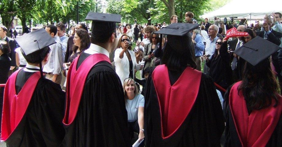 Large large harvard university academic hoods