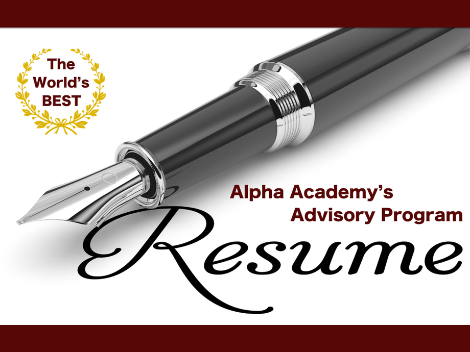 Large large alpha resume2.002