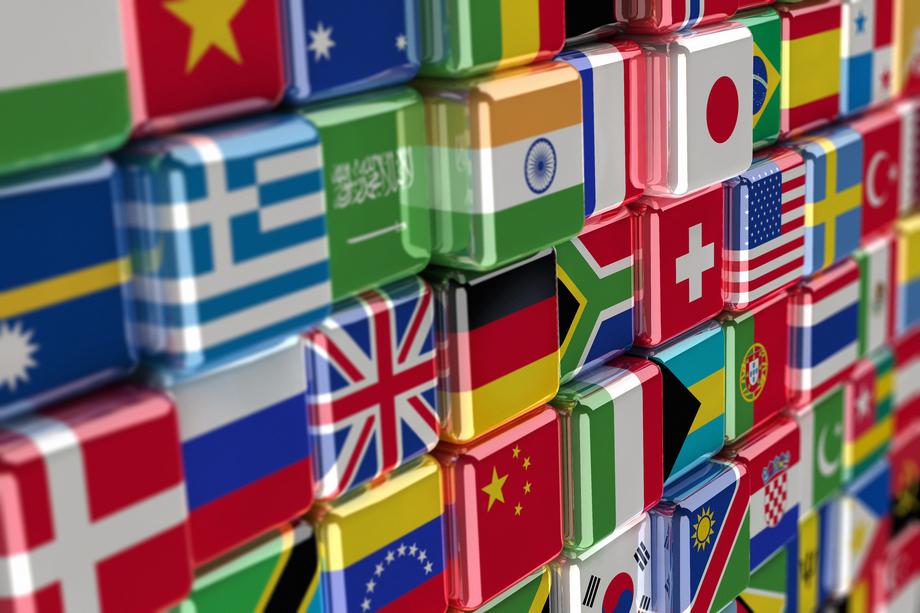 Large large bigstock international flag cubes 8311692