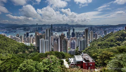 Thumb large panorama hongkong peak