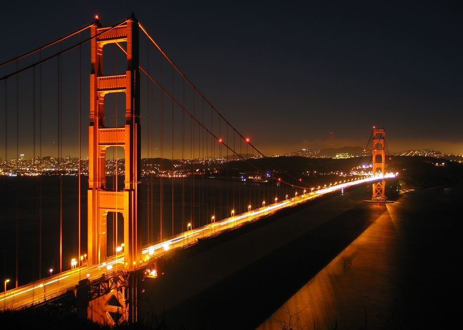 Large ggb by night