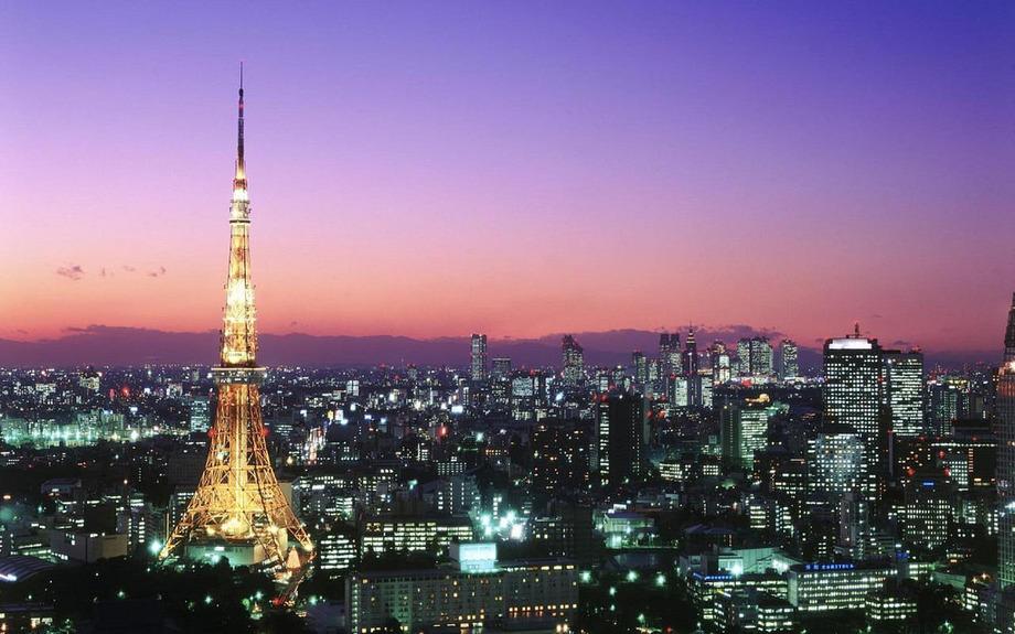 Large tokyo tower