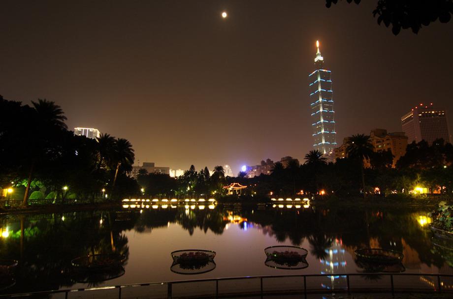 Large zhongshan park  taipei
