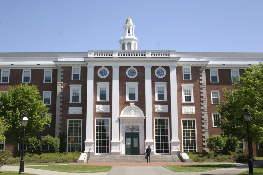 Large harvard business school