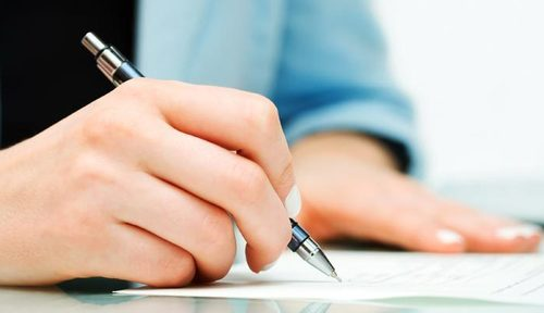 Thumb paperwork