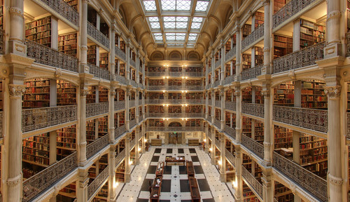 Thumb george peabody library