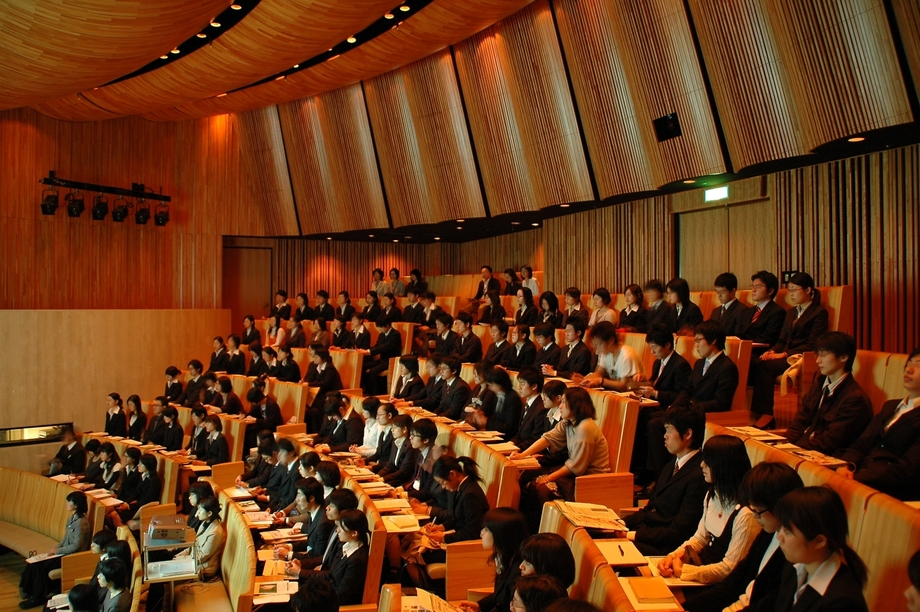 Large company information session in japan 001